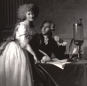 Marie and Antoine Lavoisier